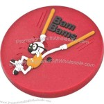 Soft PVC coaster, 91 mm - 120 mm wide