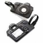 Soft PVC Luggage Tag in Camera Design