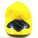Solar Cap With LEDs