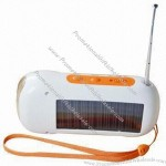 Solar charger flashlight Radio