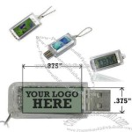 Solar LCD USB Flash Drive