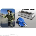 Solar Power Clip Light