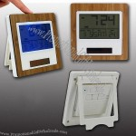Solar Power Digital Clock