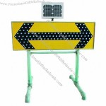 Solar Traffic Sign Arrow