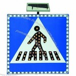 Solar Traffic Signal - Zebra Crossing
