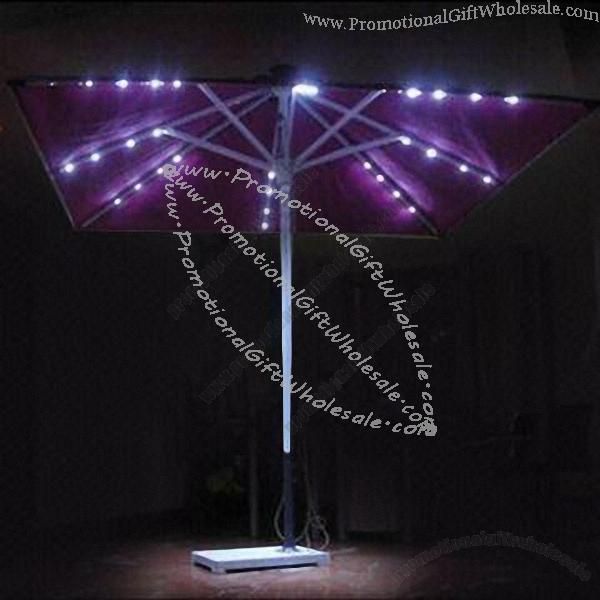 Solar Umbrella With Led Lights Made In China 352142322