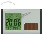 Solar Weather Station Clock