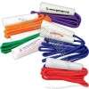 "Solid colored jump ropes, 84""."