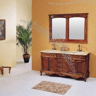 solid wood cabinets with reproduction antique design style cheap price