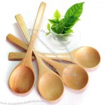 Solid Wooden Spoon
