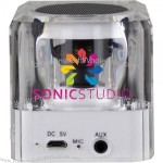 Sonic Boom Bluetooth Speaker with Flashing LED