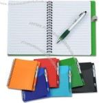 Sorbet Pocket Notebook with Curvy Stylus Pen