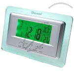 Sound Activated LCD Clock with LED Backlight
