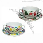 Soup Cup and Saucer