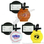 Sport Luggage Tag with Tennis ball / Baseball / Basket ball