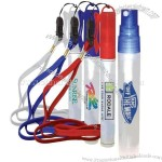 Sport Pocket Sprayer Hand Sanitizer-Anti-Bacterial with lanyard(1)