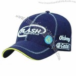 Sports Cap with Reflex Piping Around Peak