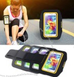Sports Mobile Phone Armband with Reflective Tape for iPhone 6 Samsung Note3/4