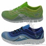 Sports Shoe, Made of Mesh Upper, 3D Outsole