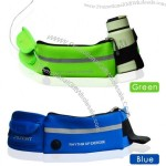 Sports Waist Pockets with Headphone Hole and Water Bottle Holder