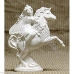 Spring Fairy Riding Unicorn Plaster Craft