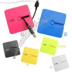 Square Cable Winder Candy Color Electrical Wire Storage Reel Computer Hub Management