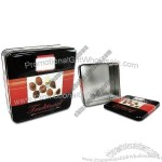 Square Gift Tin Box for Food /Candies/Biscuits/Tea/Coffee Packages