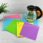 Square Insulation Mat, Silicone Pot Holder