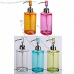 Square-shaped Acrylic Bottle Soap Dispenser