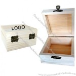 Square Wooden Box With Lid