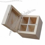 Square Wooden Gift Boxes