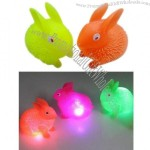 Squeeze Flashing Rabbit Toys For Children