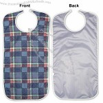 Stain Fighter Adult Bib With a Full Vinyl Barrier Protection - Velcro Closure