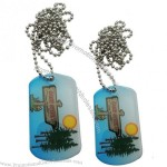 Stainless Iron Metal Dog Tags for Men