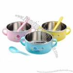 Stainless Steel 304 Baby's Feeding Bowl