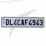 Stainless Steel Car License Plate