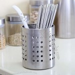 Stainless Steel Chopsticks Holder Tube