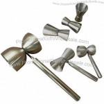 Stainless Steel Cocktail Jigger 135x65x45mm