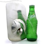 Stainless Steel Creative Fridge Magnet Fast Bottle Opener
