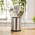 Stainless Steel Cutlery/Kitchen Utensil Holder