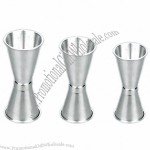Stainless Steel Double Cup Jiggers, Measuring Jug