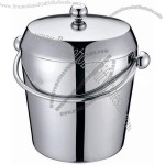 Stainless Steel Double Wall Ice Bucket(1)
