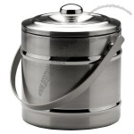 Stainless Steel Double-Wall Ice Bucket