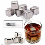 Stainless Steel/Hard Ice Cube Set