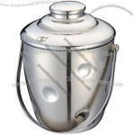 Stainless Steel Ice Bucket with Lid(1)