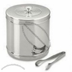 Stainless Steel Ice Bucket with Tongs