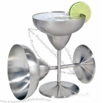 Stainless Steel Margarita Glasses