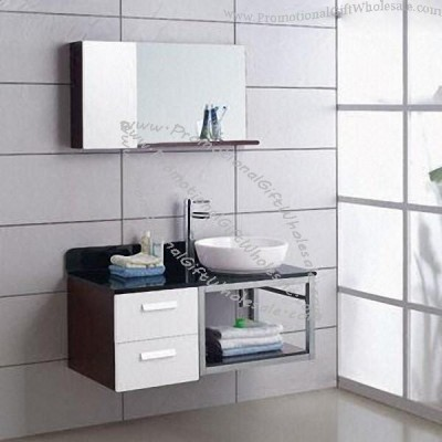 Bathroom Box Stainless Steel Modern Bathroom Vanity With Mirrors