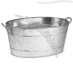 Stainless Steel Oval Beverage Tub