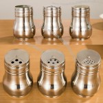 Stainless Steel Seasoning Cans, Toothpick Holder
